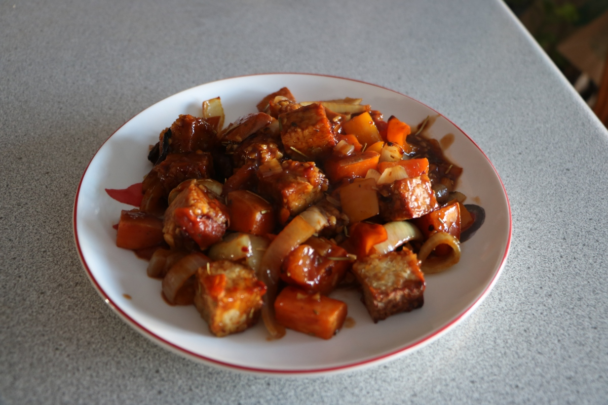 Sweet Potato and Tempeh